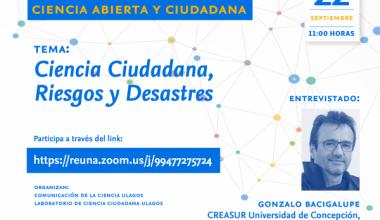 Ciencia Ciudadana, Riesgos y Desastres